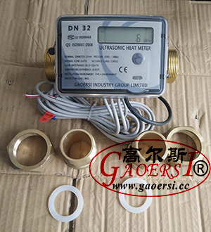 DN32, M bus meter, digital meters DIN EN1434-2:2014, CJ128-2007