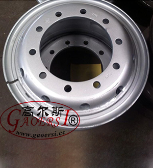 Tubeless Steel Wheel 17.5×10.5, 17.5×11.75 19.5/2.5-25, 18×9